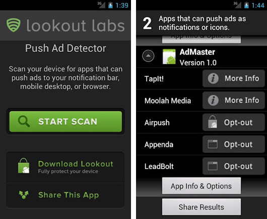 adpush ad detector AirPush Advertising in the Notifications : How to Remove It?