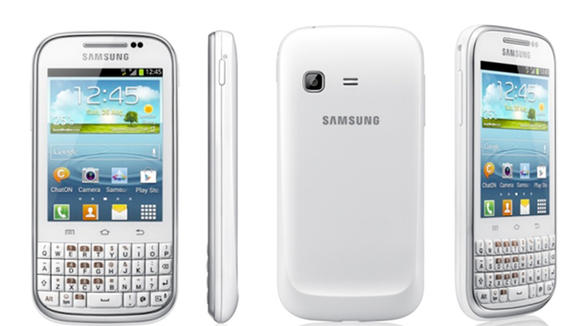 Samsung Galaxy Chat New Samsung Galaxy Chat with full QWERTY and Android 4.0