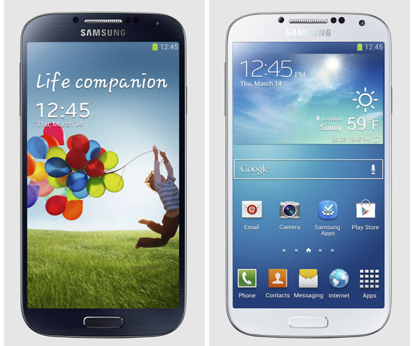 Samsung Galaxy S41 Samsung Galaxy S4: When More is Less, Take Everything!