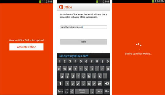 Mobile-office-for-android