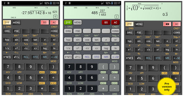 HiPER-Scientific-Calculator